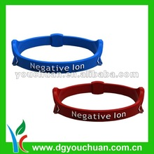 Hong Kong/Beijing Hot Sell Charming Silicone Bracelet
