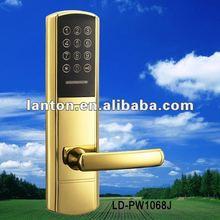 Electronic code door lock