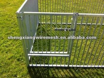 3.0m x 2.0m Galvanised Puppy Pen 0.95m (H)/dog cage/dog kennel