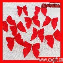 2012 Christmas Decoration New Christmas bow (12 Pcs) 17g 5.5cm