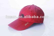 red unisex mens womens ball cap hat visor adjustable/folding visor caps