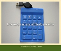 Hot soft Silicon rubber Keypad cover Parts