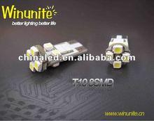 (Factory Price)8-LED 3528/1210 Epistar SMD T10/W5W/194 Canbus LED Light, Auto LED Bulb, Error Free LED Car Light