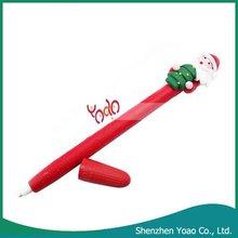 Cheap Christmas Gift Santa Claus Ballpoint Pen
