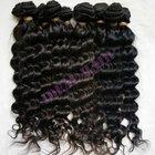 Give a discount high grade brazilian virgin remy deep wave hair extension