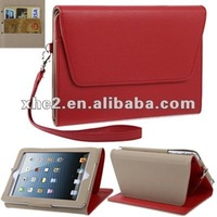 High quality Leather case with credit card slots for iPad mini