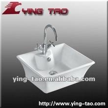 Ceramic basins for bathroom faucet tap single basin antique wooden wash basin