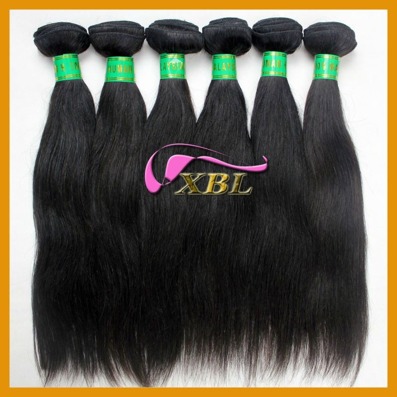 Malaysian straight virgin hair, soft sense, can be dyed and permed 1211