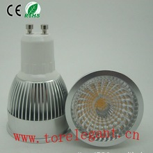 2012 New Design Hot Sale 6w Cob Led Gu10 Spotlight