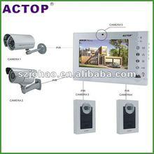 2012 wired digital security gsm intercom door phone