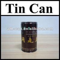 Tea Empty Tin Cans Pass SGS FDA wholesale tin box