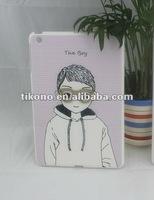 Cute cartonn pattern pc hard case for ipad mini