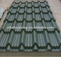colorez la tuile de toit en acier Inde pour les immobiliers de construction