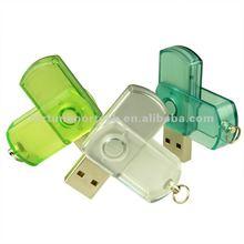 2012 top swivel&twist mini usb flash drive/stick for promo 1gb/2gb/4gb