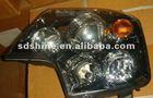 HOWO A7 front combination headlight ,howo heavy truck combination headlamps WG9925720001