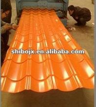 interlocking 828 classic glazed painted color tile machine