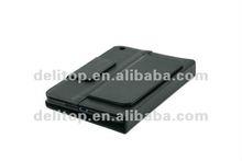 for ipad mini bluetooth leather case & keyboard black
