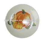 Spring fruit shaped cheap porcelain food plates