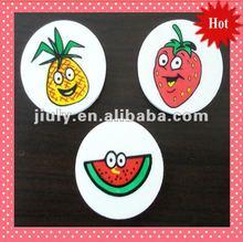 Promotion printing Fruitshape tpr eraser(Pineapple watermelon strawberry)