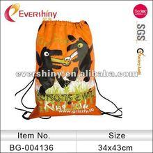 drawstring gym bag fancy custom printing cinch sack
