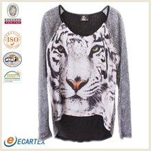 Ladies Fashion Animal Print T-shirt