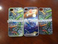 3D mobilephone shell sticker of animal design 3D laptop sticker 3D lenticular phone sticker