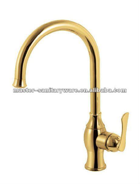 ornamentado dourada de luxo banheiro pia torneira