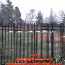 Zinc steel fence farm wrought iron fence