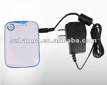 new well known 2012 new hot sale super thin power bank potable mobile power 5000mAh automatic battery charger 5V