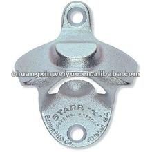 custom metal wall mount bottle opener
