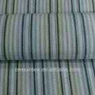 100% cotton blue and white stripe fabric