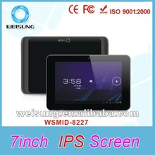 Hot !!! 7 inch capacitive touch android cheapest tablet pc with sim slot