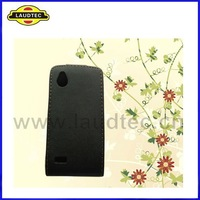 Leather Flip Case for HTC Desire X,Flip leather case cover,more colors available----Laudtec