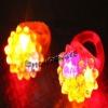 2012 led ring light unit, glow led rings, fantasy christmas jewelry for girls