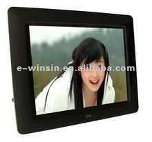 2012 Hotsale 8 Inch Cheap Digital Frame with clock,Calendar,Timing switch 800x600 pixels