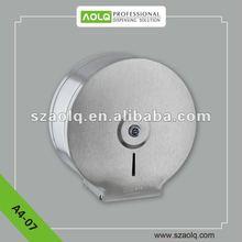 Modern Design Jumbo 201 Stainless Steel Roll Paper Holder for toilet with Burglarproof lock