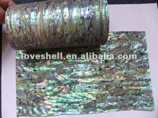 paua shell sheet with sticker view abalone shell sheets