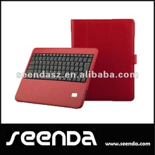 Cheapest 9.7 Inch Tablet Keyboard Case for New Ipad Red Color