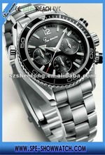 stainless steel japan movt 2012 top brand mens watches
