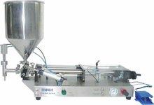 SFGG-12K Top Sale! simple semi automatic filling machine for cream,paste,sauce(V)