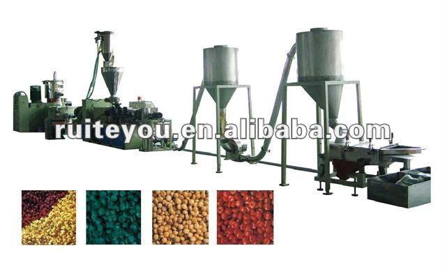 Hot sales plastic film pelletizing line
