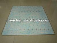 Plastic ceiling tile