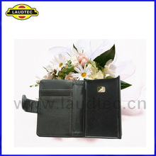 Wallet Leather Case for LG Optimus L3 E400, Credit Card Slot Cover Case for LG E400, IN Stock