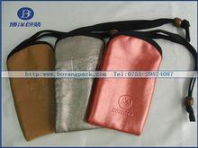 2012 christmas gift bag mobile phone bag pouch
