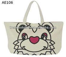 trendy fancy nylon wholesale tote bags