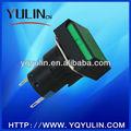 La muestra verdadera de Nylon verde de señal de peatones luz YL1 - LAY6-D 16 mm diámetro