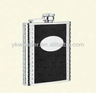 7 oz duples stainless steel hip flask