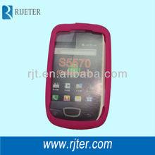 silicone phone case for Samsung s5570 galaxy mini