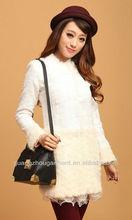 2012 winter ladies fashion Korean flower winter overcoat hot sell