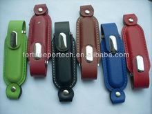 1gb/2gb/4gb/8gb/16gb marketing program premium gift leather usb flash drives